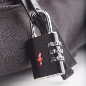 Inindia Tsa Travel Sentry 3-dial Luggage Lock With Red Indicator ( Original)