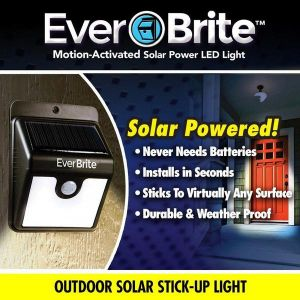 Inindia Everbrite Motion Sensored Outdoor/indoor Bright LED Lamp