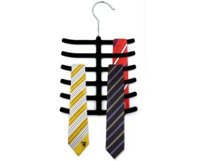 Cloth stands - ININDIA Modern Glossy Tie-Hangers