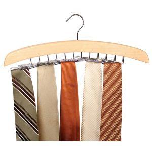 Cloth stands - ININDIA Tie Hanger/Belt Hanger/Scarf Hanger
