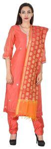 Dress Materials (Singles) - Aaditri Clothing Ethnic Dress Material Cotton Multi-Coloured Women(77201726)