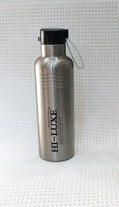 Hi Luxe Thermo Steel Premium Steel 500 Ml Vaccum Flask Bottle - Cruiser Silver