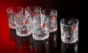 RCR Oasis Whiskly Glass By Merahomestore