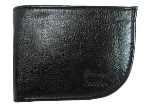 Apki Needs Stylish, Designer, Textured, Curvy, Shinny Bi Fold Black Men Wallet
