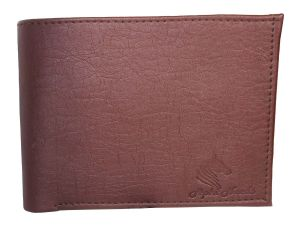 Apki Needs Stylish, Designer, Textured, Bi Fold Brown Men Wallet