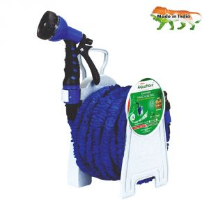 Aquahose Expandable Magic Blue Hose Reel 100