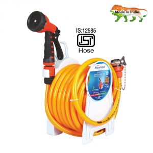"Aquahose Household Water Hose Reel Orange 7.5mtr 12.5mm(1/2"") - 25"