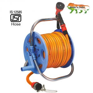 Aquahose Garden Hose Reel Orange 30mtr (12.5mm Id) - 100