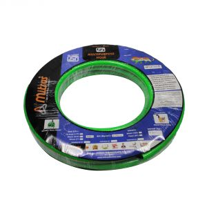 "Mitras Multipurpose Hose 1/2"" (12.5mm ID) - 50 Ft (15 Mtr) - ISI Marked 3 Layered Green Hose Pipe"