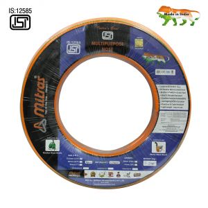 "Mitras Multipurpose Hose 1/2"" (12.5mm Id) - 100 Ft (30 Mtr) - Isi Marked 3 Layered Orange Hose Pipe"