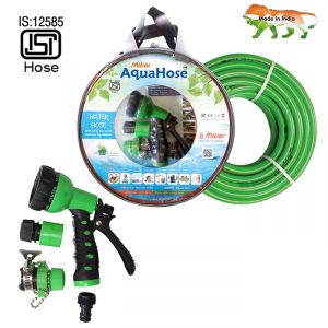 "Aquahose Water Hose Set Green 7.5mtr 12.5mm(1/2"") - 25"