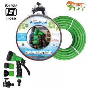 "Aquahose Water Hose Set Green 15mtr 20mm(3/4"") 50"