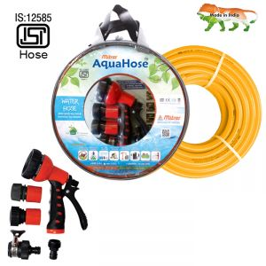 "Aquahose Water Hose Set Orange 15mtr 20mm(3/4"") 50"
