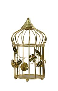 Metal Bird Cage Decoration Decorative Cages Window Hanging Cage Metal Wedding Birdcage Home Decoration