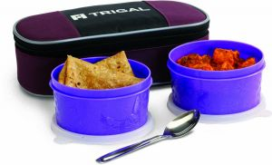 Trigal Mini Meal Lunch Box With Bag & Spoon