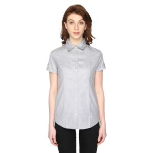 P-nut Womens Solid Casual Top(code-om375-e)