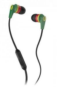 "Apple iPhone Handsfree - Skullcandy Ink""d 2 Earphone With Mic For Ipod/iphone/ipad"