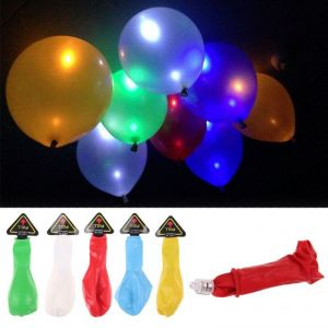 Decorative Lights - LED Balloons Pack Of 5
