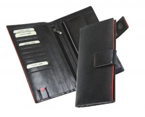 Gifts N Promotions Black Leather Wallet 7342