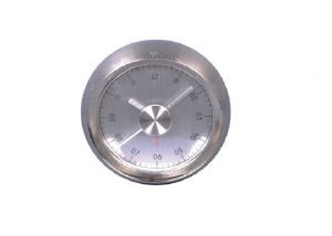 Gift N Promotions Analog Silver Clock