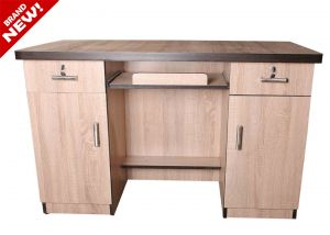 Caspian Light Brown Study Table