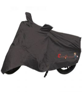 Capeshoppers New Advance Bike Body Cover Grey For Hero Motocorp Splender