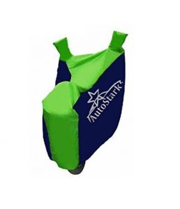 Autostark Pearl Bike Body Cover Blue & Green For Hero Hf