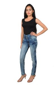 Jeans (Women's) - Royce Trend Full Stretchable Jeans (Code - 2RV1113-GIRLS-T12)