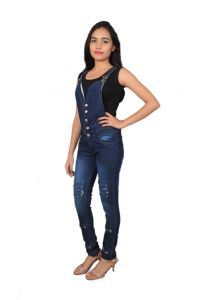 Jumpsuits - Royce Trend Girls Dungarees  (Code - RV1113-GIRLS-T17)