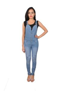 Jumpsuits - Royce Trend Girls Dungarees  (Code - RV1113-GIRLS-T18)