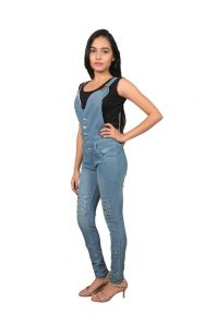 Jumpsuits - Royce Trend Girls Dungarees  (Code - RV1113-GIRLS-T19)