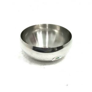 Graminheet Stainless Steel Salad Bowls Set Of 2pcs
