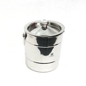 Utensils - Graminheet Stainless Steel Ice Bucket 1500ml in Fancy 3