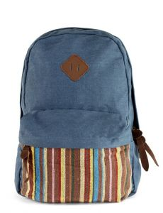 Baggabond Cotton Canvas Back Pack Bags BGCB0005