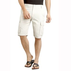 Shorts (Men's) - London Bee Solid Men's Cargo Shorts - ( Product Code - MSLB0039 )