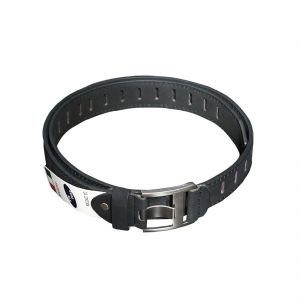 Lee Topper Mens Black Stylish Fashionable Casual Belt