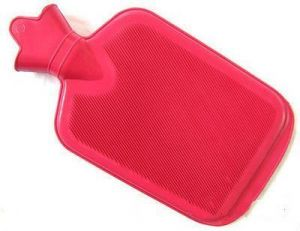 Large Plain Non-electrical 1.5 L Hot Water Bag(red)