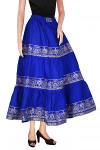 Skirts, Trousers - Decot Paradise Printed Women's Regular Multicolor Skirt(DL3121)