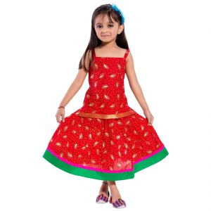Girls - Decot Paradise Girls Top and Skirt Set  (KID2090