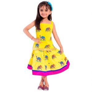 Girls - Decot Paradise Girls Top and Skirt Set  (KID211)