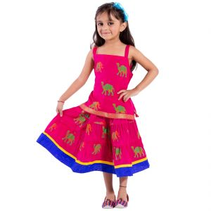 Kids' Wear - Decot Paradise Girls Top and Skirt Set (KID213)