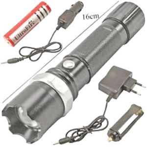 Multi Functional Swat Torch Flashlight With 2-modes