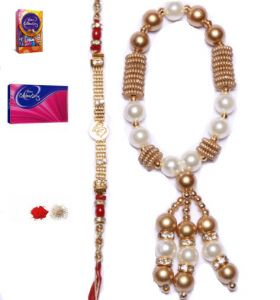 Exclusive Bhaiya And Bhabhi Lumba Rakhi Set