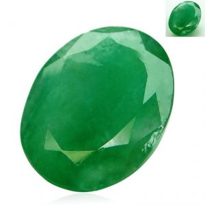 4.14 Ct. / 4.6 Ratti Emerald (panna) Certified Gemstone By Arihant Gems & Jewels-(product Code-agj0986)