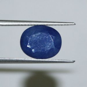4.1ct 4.53rt 0.82grams Blue Sapphire Neelam Without Treatment, Neelam, Sapp