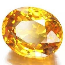 6.25 Ratti Yellow Sapphire Pukhraj Stone And Igl Certified