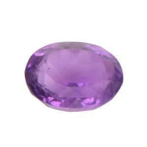 Ruchiworld 5.89 Ct Certified Natural Amethyst Loose Gemstone