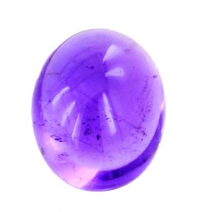Nirvanagems4.5 Cts Purple Amethyst Oval Cabochon Gemstone - Br-19408_rf