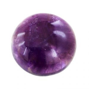 Jewellery - Nirvanagems33 Cts Certified Round Cabochon Amethyst Gemstone - Br-19771_rf