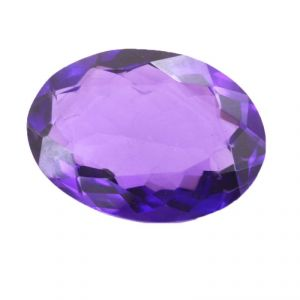 Nirvanagemsnatural 43 Cts Certified Amethyst Loose Gemstone - Br-20104_rf